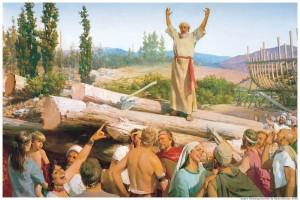 Noah mocked